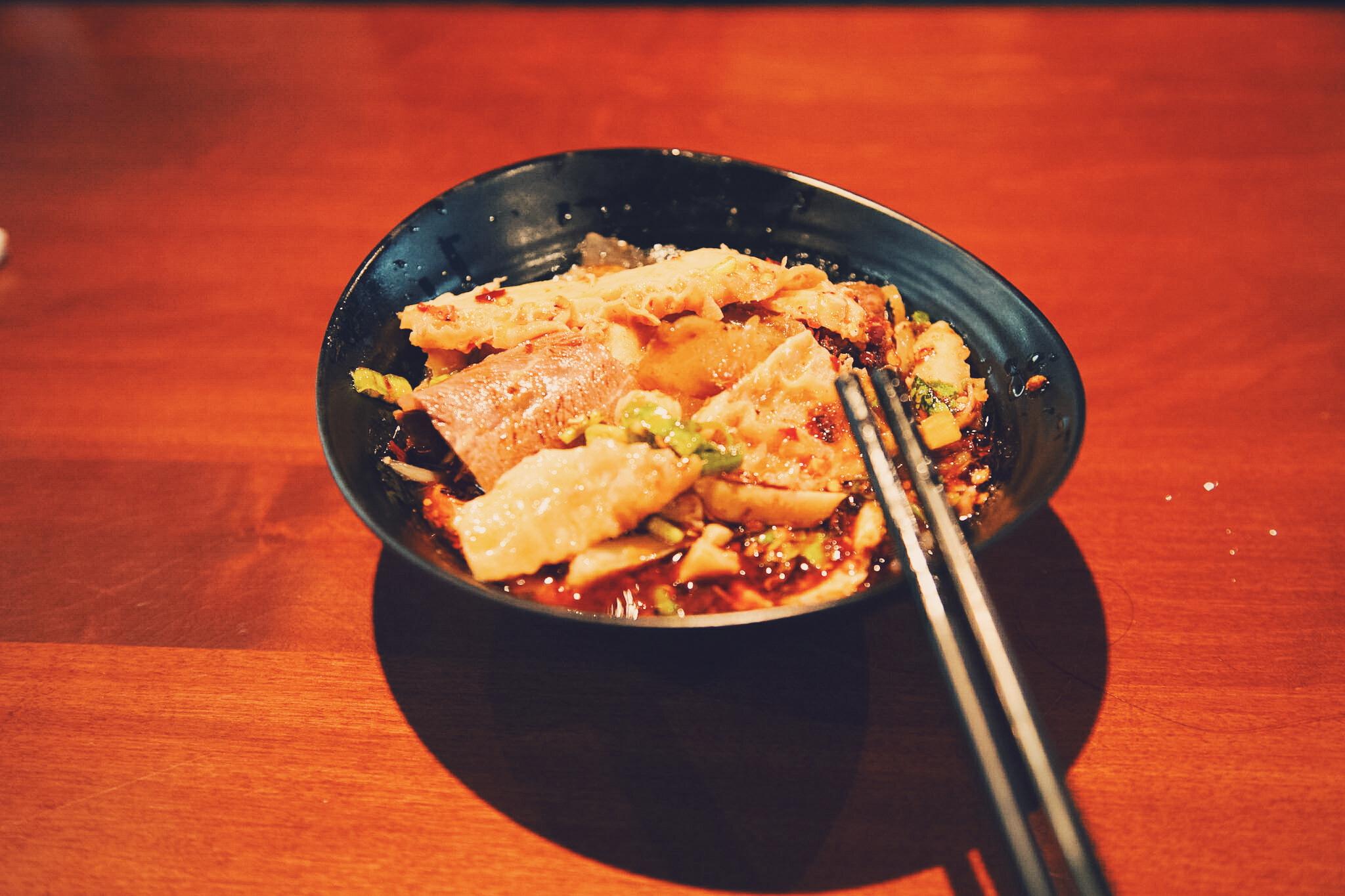 夫妻肺片(Beef and Ox Tripes in Chili Sauce)