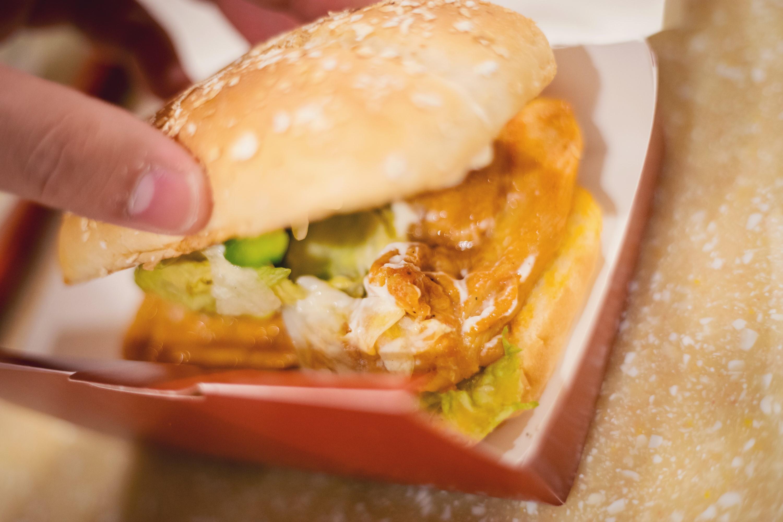 KFC New Orleans BBQ Chicken Burger