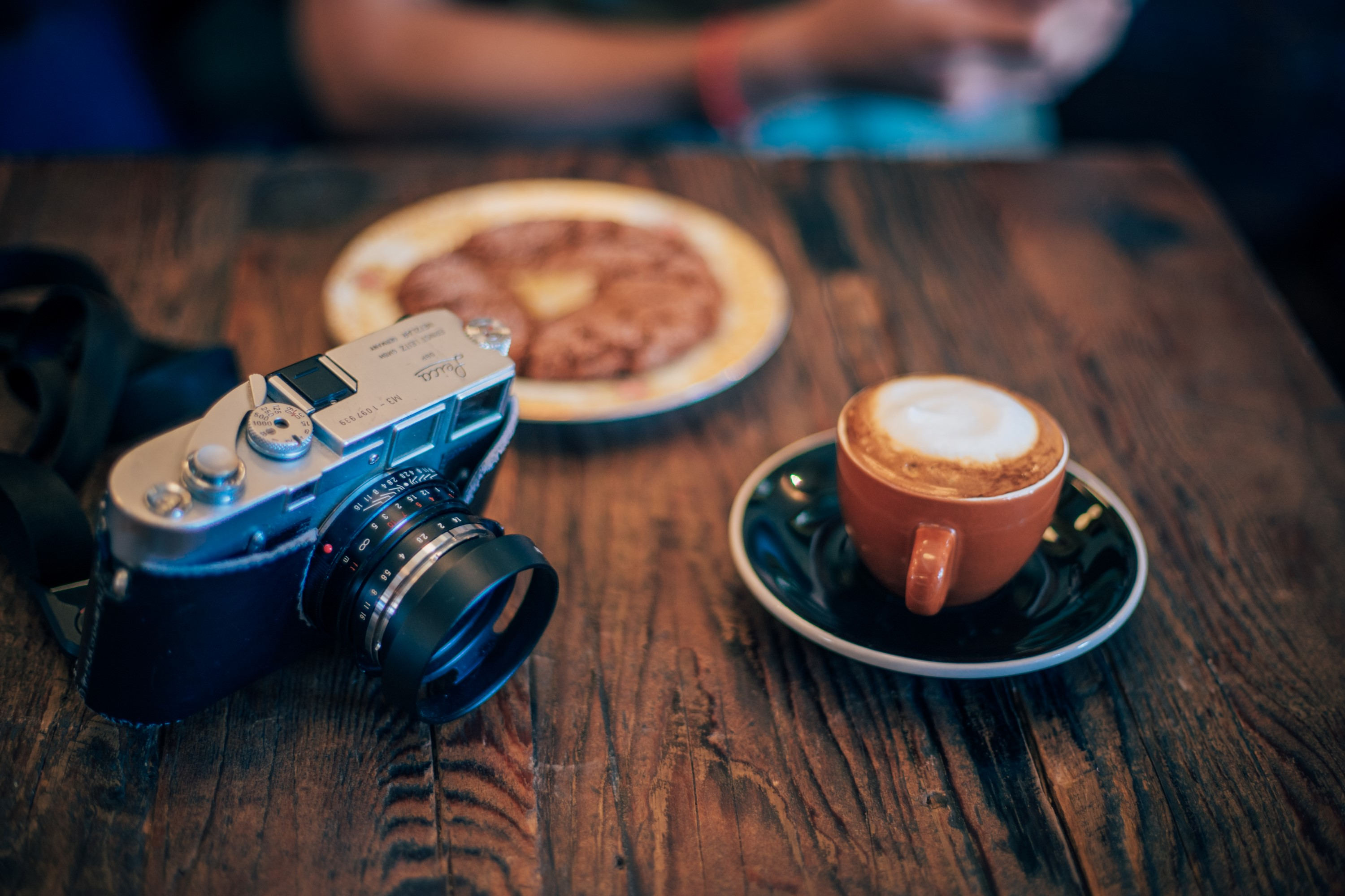 Latte and Leica